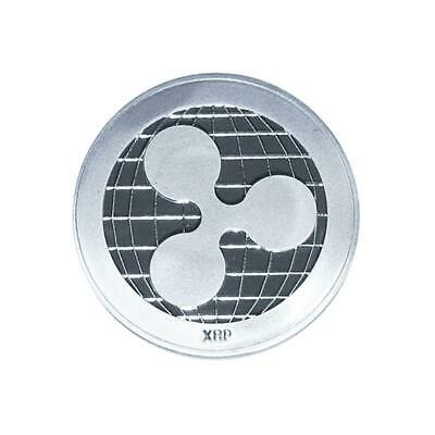 1Pc Silver Ripple coin Commemorative Ripple XRP Collectors Decoration Coin Gifts