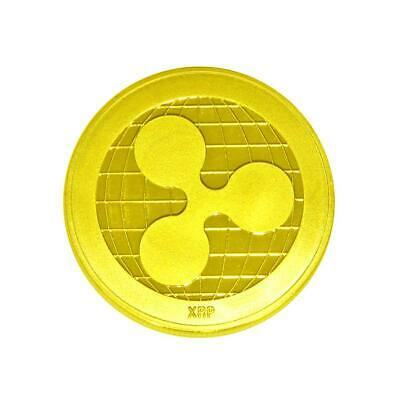 1Pc Gold Ripple coin Commemorative Ripple XRP Collectors Decoration Coin Gifts
