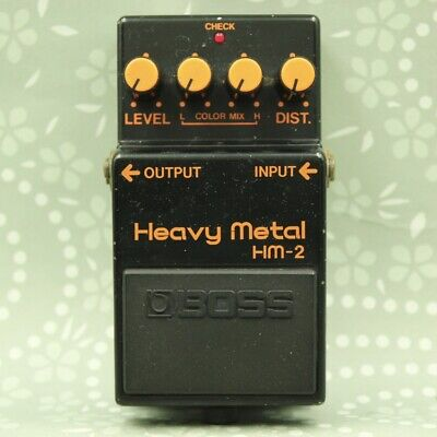 BOSS HM-2 Heavy Metal Made in Japan ACA guitar effect pedal Free shipping 761800