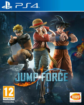 Jump Force Sony PlayStation Ps4 Game 12 Years