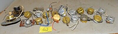20 electric clock motor movement vintage collectible steam punk parts repair G2
