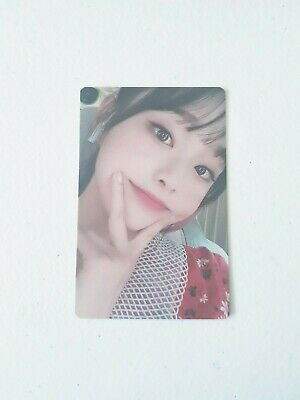 """MONTHLY GIRL LOONA Chuu New Photocard - Official MD Showcase of LOONA """"#"""""""