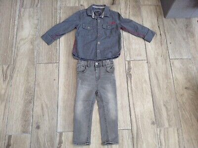 Boys River Island jeans & Next shirt 3/4 years