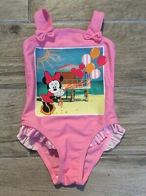 Girls Swimming Costume 18/24 Months Minnie Mouse