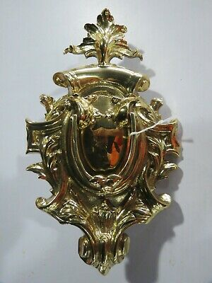 Very Large Ornate Brass Door Knocker New Condition