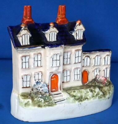 Antique Staffordshire Pottery Cottage  Potash Farm   Wymondham