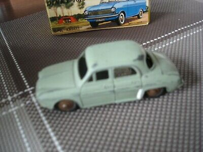 """Ancien Dinky Toys  """"""""""""  Renault Dauphine  """"""""""""  Meccano France"""