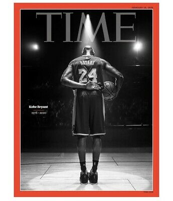 SHIPPING NOW - Kobe Bryant - Time Magazine - FEBRUARY 10, 2020 - Brand New