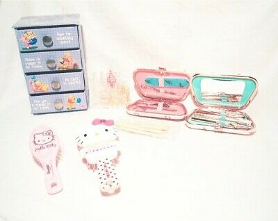 BUNDLE DISNEY / HELLO KITTY Girls Health & Beauty, Accessories, Nail & Brow Set