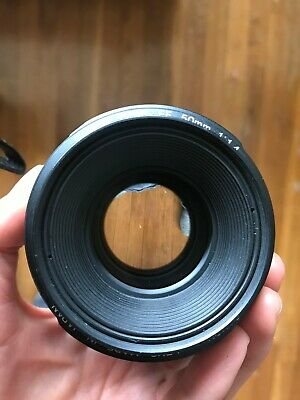 Canon EF 50mm f/1.4 USM Lens (2515A003) Comm error with body/manual focus works