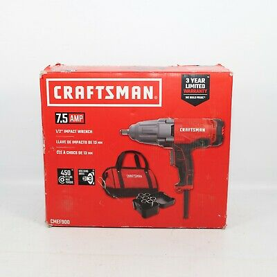 "CRAFTSMAN 7.5 AMP CMEF900 1/2"" Corded Impact Wrench"