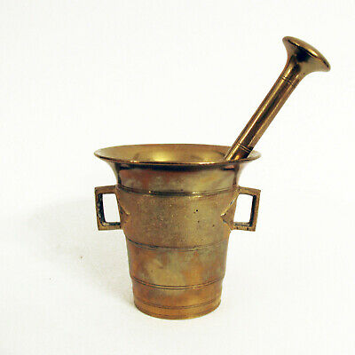Antique Vintage Mortar And Pestle Apothecary Apotheker Mörser Skultuna No.4