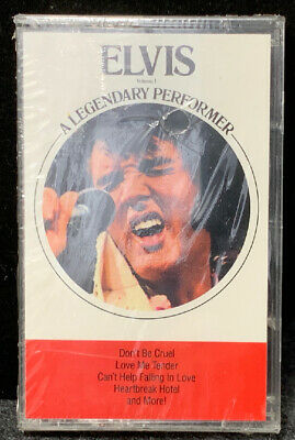 Elvis Presley-A Legendary Performer-1989-BMG-Cassette New Sealed
