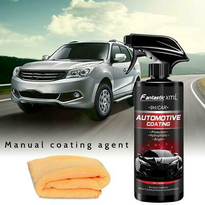 New Shine Armor Ceramic Spray Car Polish Spray Top Coat Quick Nano-Coating 500ML