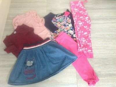 Girls Clothes Bundle Age 5-6 Years - Mothercare, TU, Next