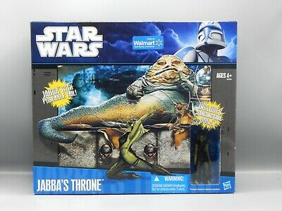 2010 Hasbro STAR WARS Return Of The Jedi JABBAS THRONE w/ OOLA Sealed MIB toy !!