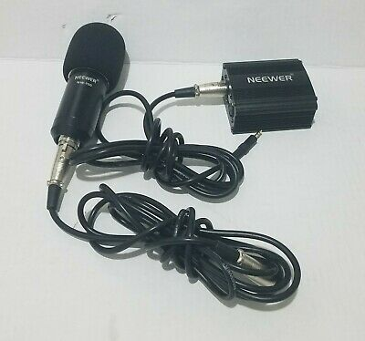 Neewer NW-100  Power Supply /Neewer NW-700 Microphone /w cable