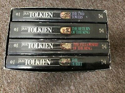 1987 Lord of the Rings The Hobbit 50th Anniversary Books LOTR JRR Tolkien Free S