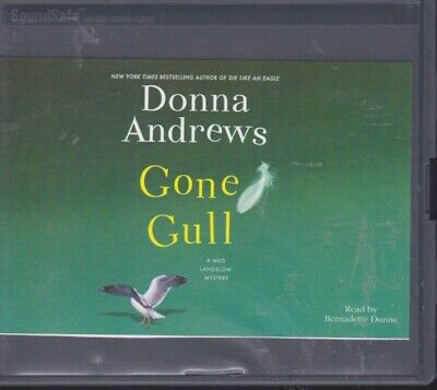 GONE GULL by DONNA ANDREWS ~UNABRIDGED CD'S AUDIOBOOK