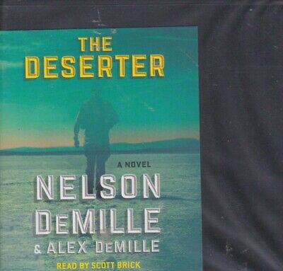 THE DESERTER by NELSON DEMILLE ~UNABRIDGED CD AUDIOBOOK