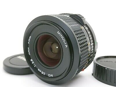 [Near Mint] Minolta New MD 28mm F/2.8 NMD Wide Angle MF Lens From Japan A20