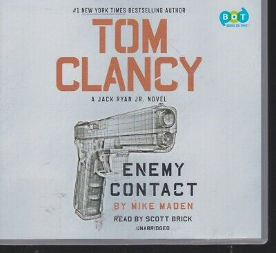 ENEMY CONTACT by MIKE MADEN (TOM CLANCY) ~UNABRIDGED CD AUDIOBOOK