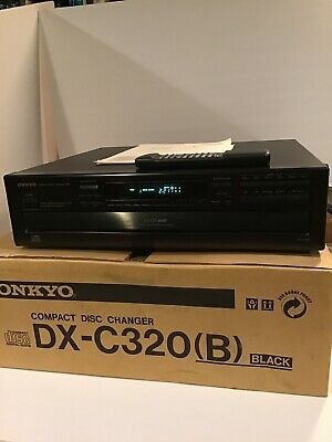 Onkyo DX-C320 Compact Disc Multi Player Changer 6 CD With Remote Tested Woks