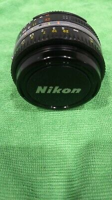 【Near Mint】Nikon Ai-S Nikkor AiS 50mm f/1.8 MF Lens from Japan