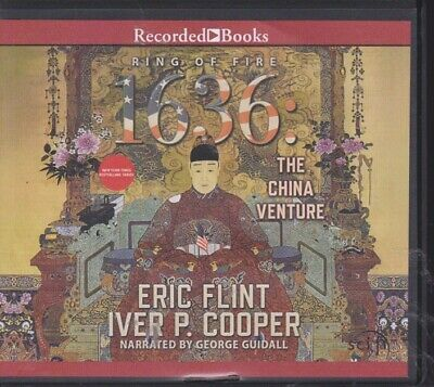 1636: THE CHINA VENTURE by ERIC FLINT ~UNABRIDGED CD AUDIOBOOK