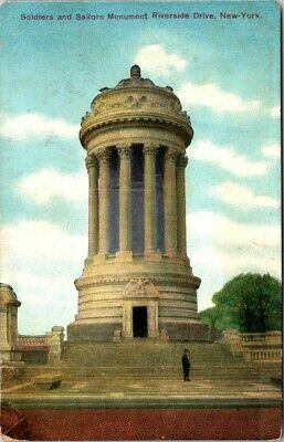 P32-0216, Soldiers And Sailors Monument, Riverside Drive, New York, Ny.