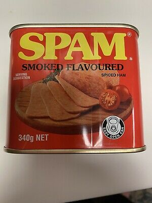 HTF Rare  Hormel  Spam Smoked Flavor Spiced Ham Tin Bank