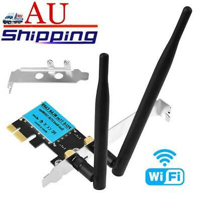 Wireless 1200Mbps PCI-E WiFi Card 2.4G/5G Dual Band Network Adapter for Desktop