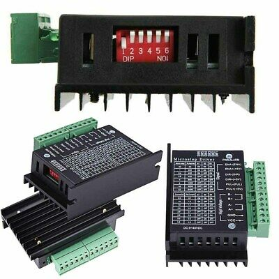 TB6600 Single Axis 4A Stepper Motor Driver Controller 9~40V Micro-Step CNC Hot