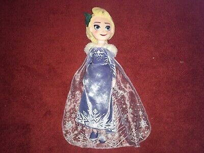 "Frozen Disney Princess Elsa Soft Toy Doll Plush Large 21"" Vgcc"