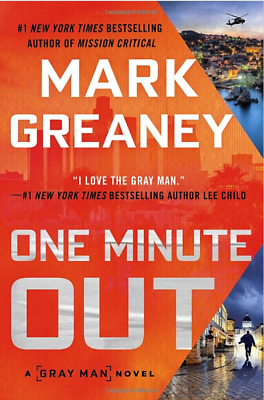 😈 😈 One Minute Out (Gray Man) by Greaney Mark 🌟 2020 🌟 Fast delivery 🌟