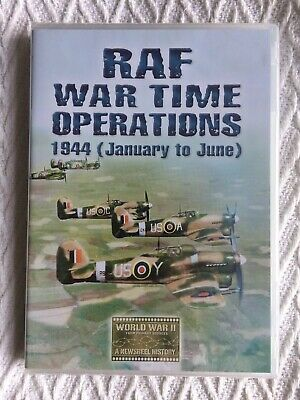 RAF War Time Operations 1944 (January to June) [DVD] *NEW & SEALED*