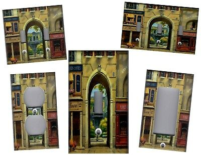 French Shops Paris Home Wall Decor Light Switch Plates And Outlets