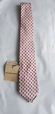 Burberry Men's Silk Check Tie Brand New with Tags