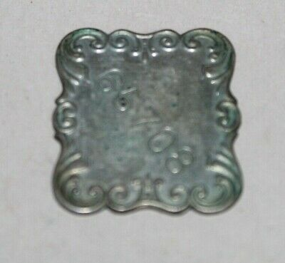Antique F. L. & Co. CHARGE COIN TOKEN F. Loesser & Co. NY