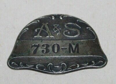 Antique Abraham & Straus NY CHARGE COIN TOKEN