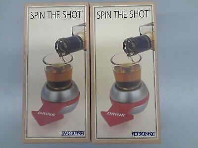 Barbuzzo Original Spin the Shot – Fun Party Drinking Game, Includes 2 Ounce Shot
