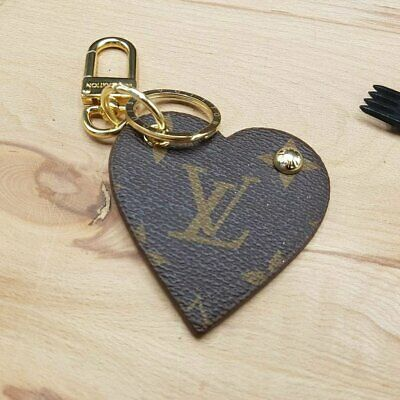 Louis Vuitton Bag Accessory Leather Key chain, Gift Key chain