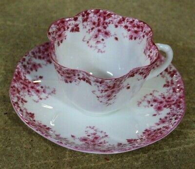 Shelley China Dainty Pink Daisy 051/P Cup Saucer Super Clean