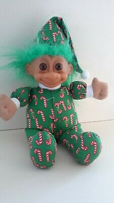 """1 1//4/"""" Russ Troll CHRISTMAS ELF  PIN NEW WITHOUT CARD"""