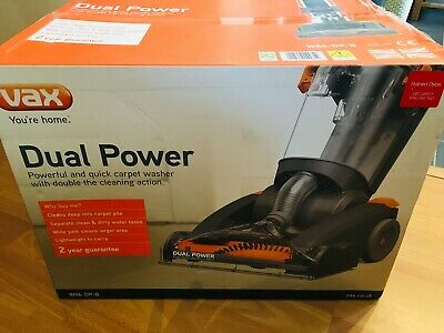 NEW! Vax W86-DP-B Dual Power Upright Carpet Washer Cleaner!