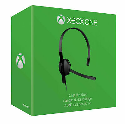 Official Xbox One Chat Headset (Xbox One) - Microsoft - NEW