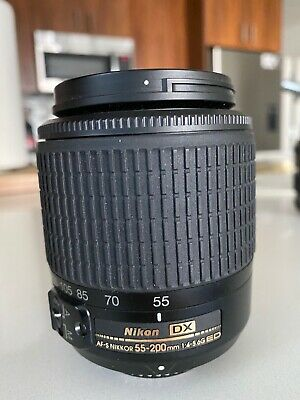 Nikon 55-200mm f/4-5.6G VR II DX AF-S ED Zoom-Nikkor Lens - Used Once!
