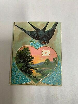 Vtg Antique 1914 Jewelry Store Advertising Sewing Needle Book & Calendar (A4)