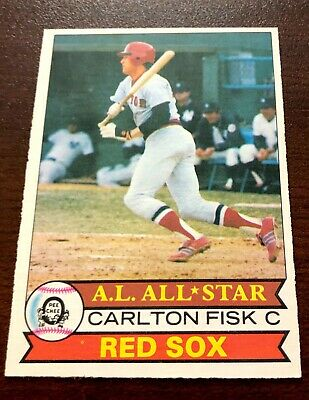 1979 OPC Opeechee Canadian Carlton Fisk #360 HOF  Boston Red Sox