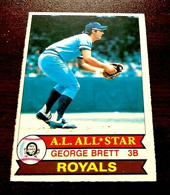 1979 OPC Opeechee Canadian George Brett #167 Kansas City Royals